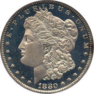 1880 Morgan Silver Dollar Silver Dollar Morgan Silver Dollar Coins