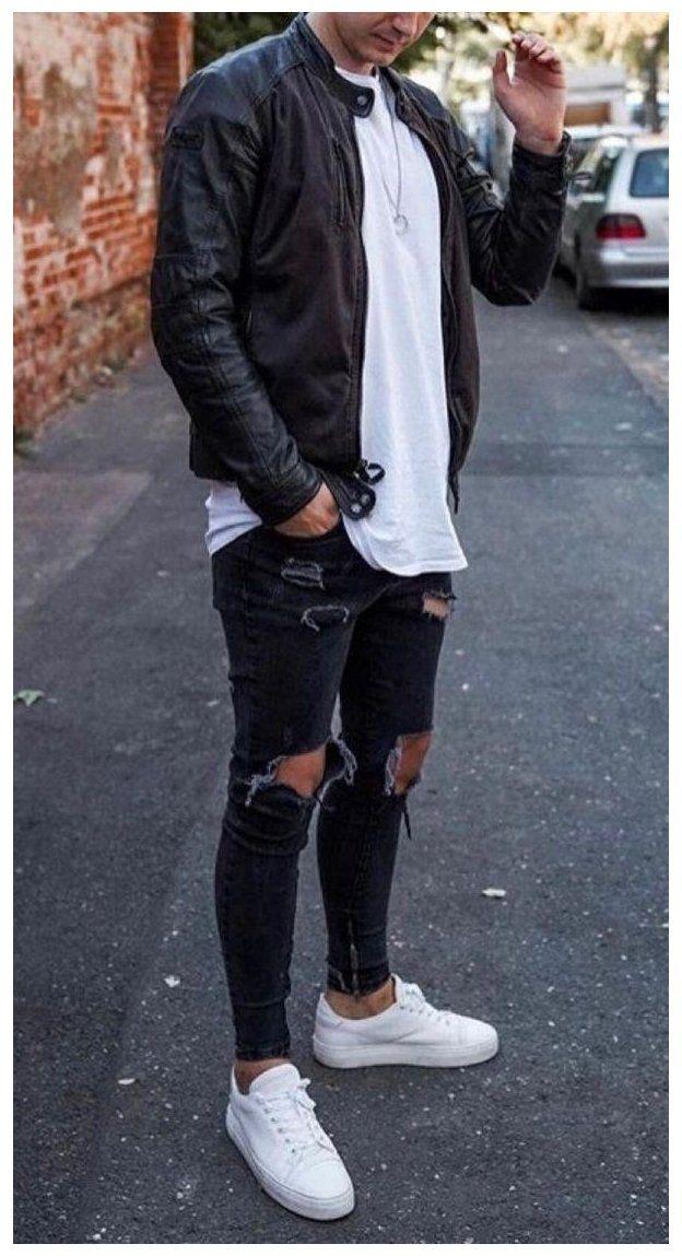 winter outfits men casual moda masculina