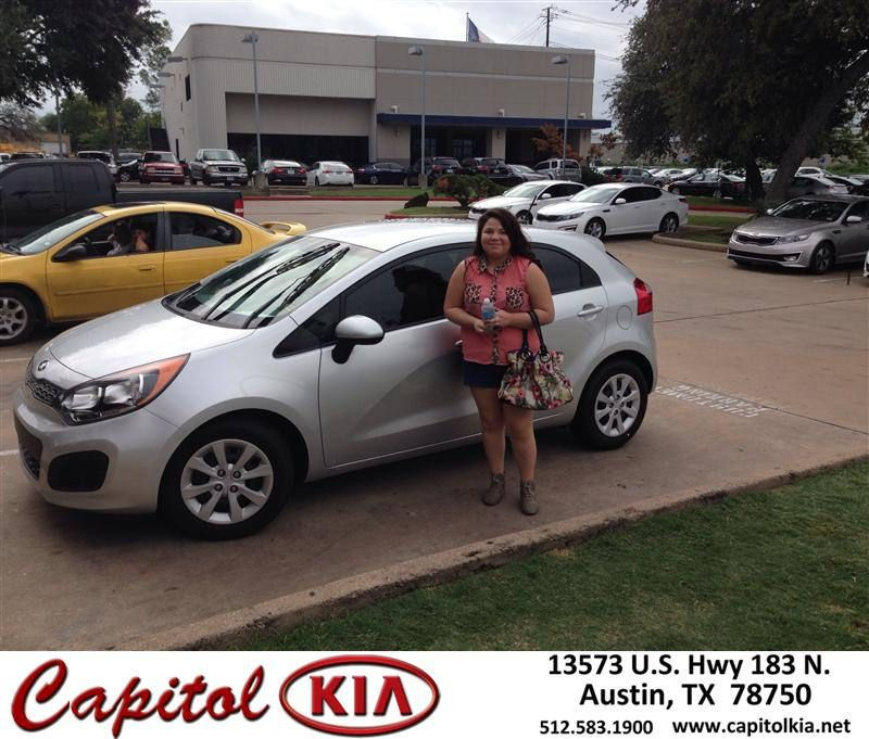 #HappyBirthday to Rainee Trevino from Robert Bills at Capitol Kia!