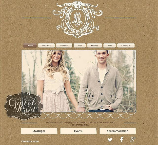 Want A Personal Wedding Website Get Your Free