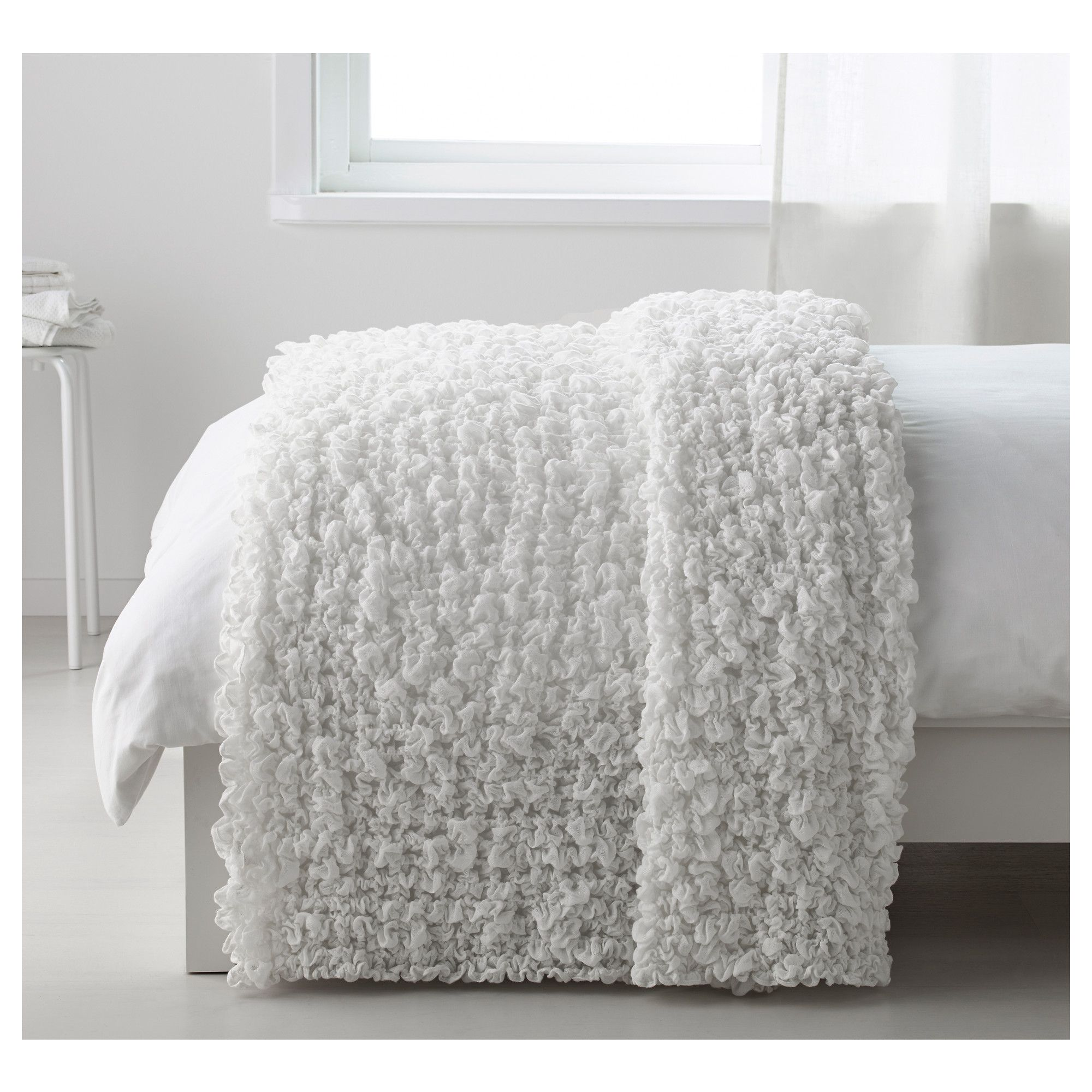 OFELIA Blanket White 130x170 cm | Bedrooms, Bedroom closets and Room