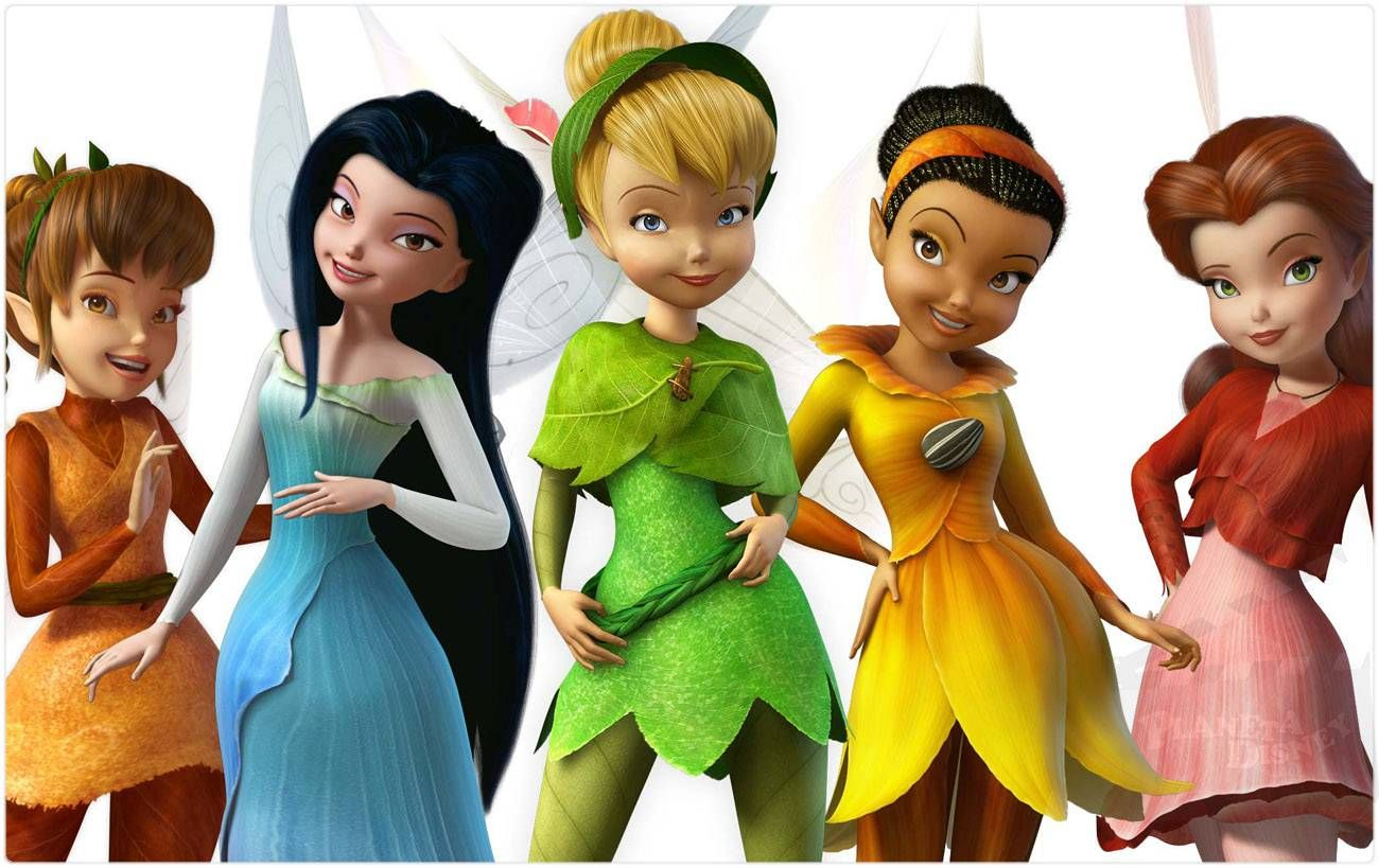 tinker bell | Tink and Friends, Fawn, Silvermist, Tinker ...