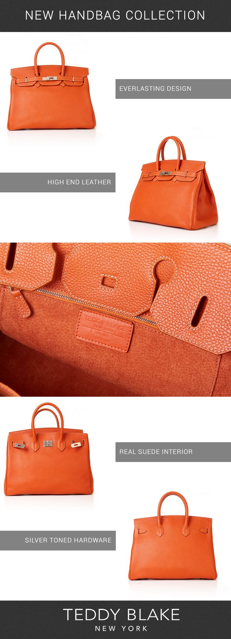 037ada2b1d7c Fall in love with the latest handbag collection from Teddy Blake New York! Featuring  stylish designs handcrafted in Italy from high end leather!