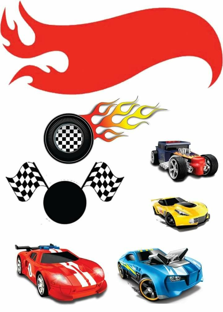 Pin De Victory Em Topo De Bolo Bolo Hot Wheels Festa Hotweels Hot Wheels