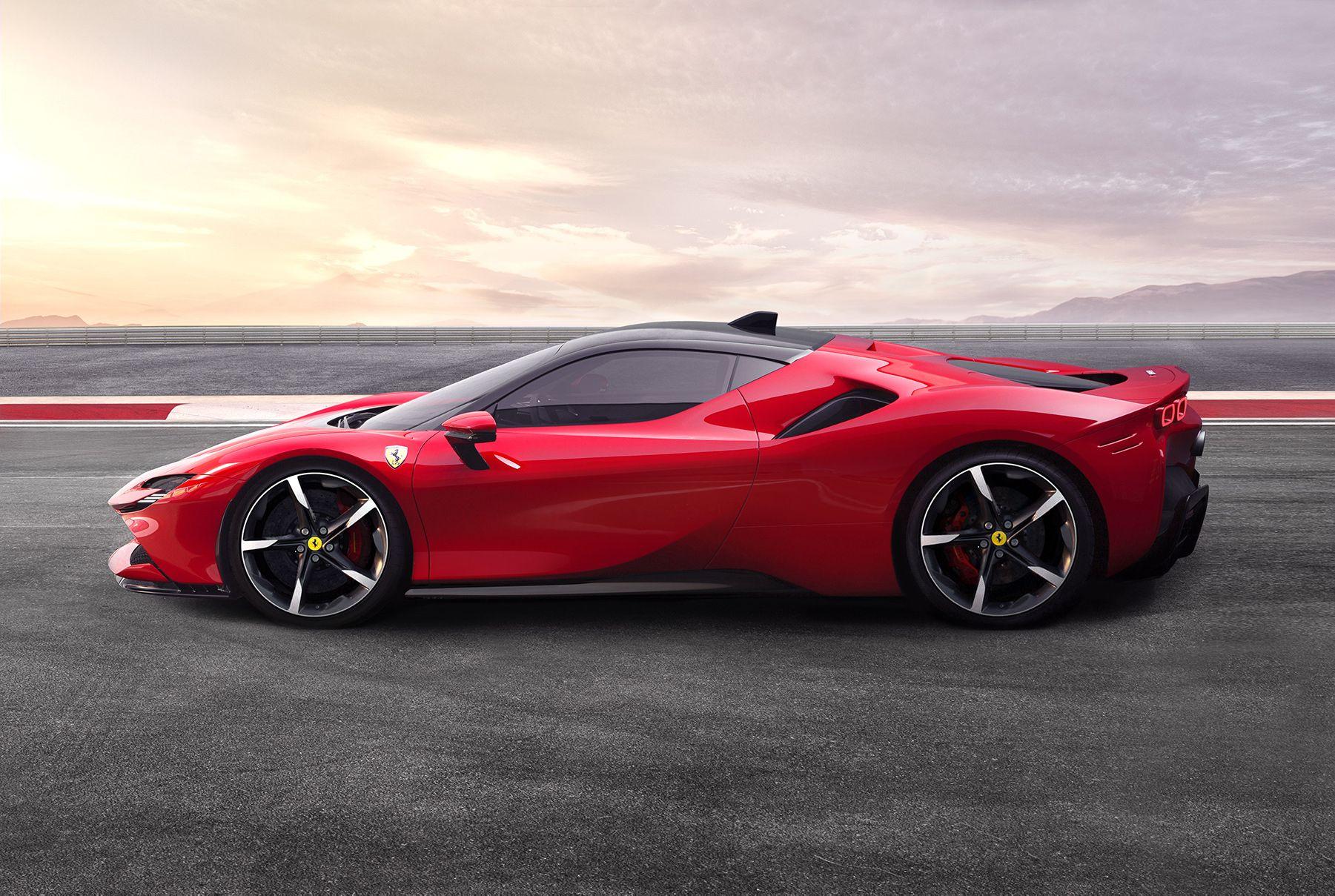 New Ferrari SF90 Stradale PHEV is Most Powerful Ferrari Ever #newferrari