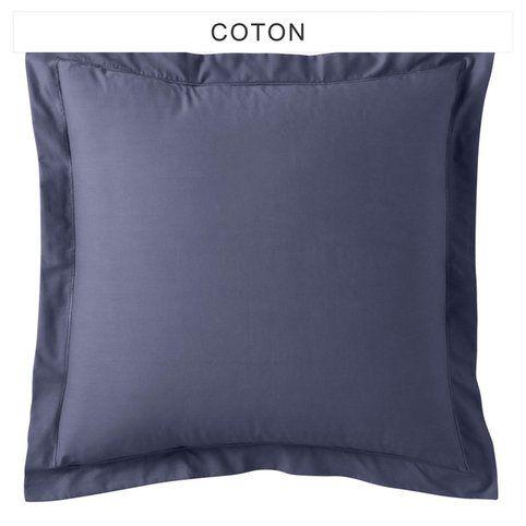 taille oreiller standard Taie d'oreiller ou rectangulaire coton TERTIO®   3Suisses | Déco  taille oreiller standard