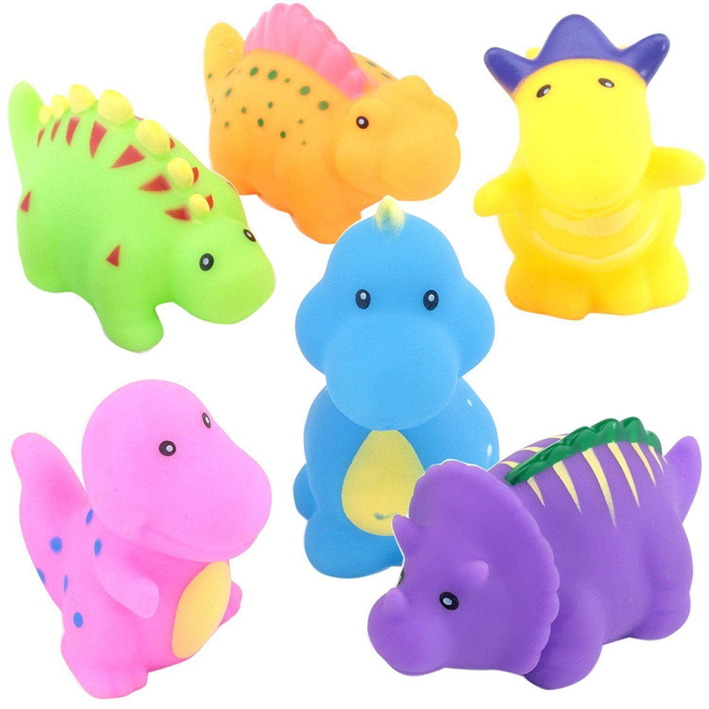 SainSmart Jr. Bathtub Toys Dinosaur Baby Bath Toys Children Days ...