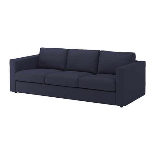 IKEA  VIMLE 3zitsbank Orrsta zwartblauw  woonkamer