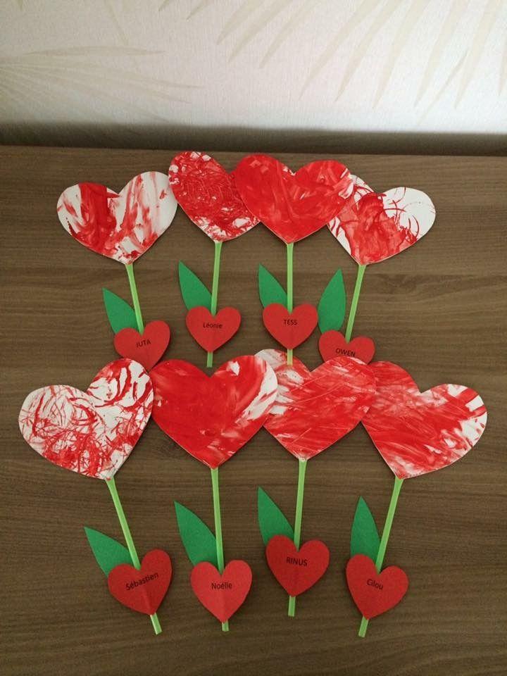 Pin Von Conny Auf Conny Valentinstag Basteln Kinder