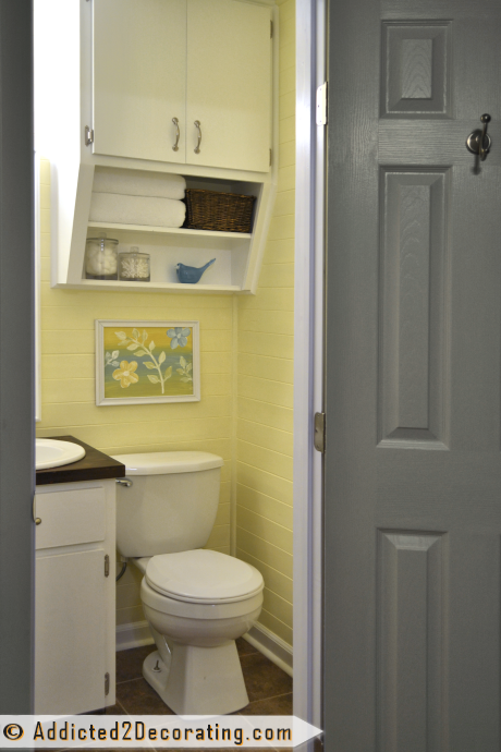 Tiny Condo Bathroom Makeover Before And After Condo Bathroom - Condo bathroom makeovers