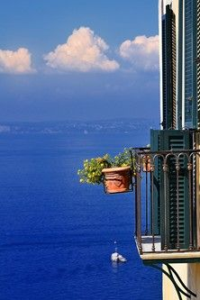 Positano balcony