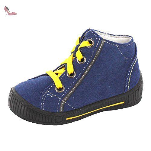 Superfit Moppy, Chaussures Marche Bébé Fille, Gris (Silber Kombi), 21 EU