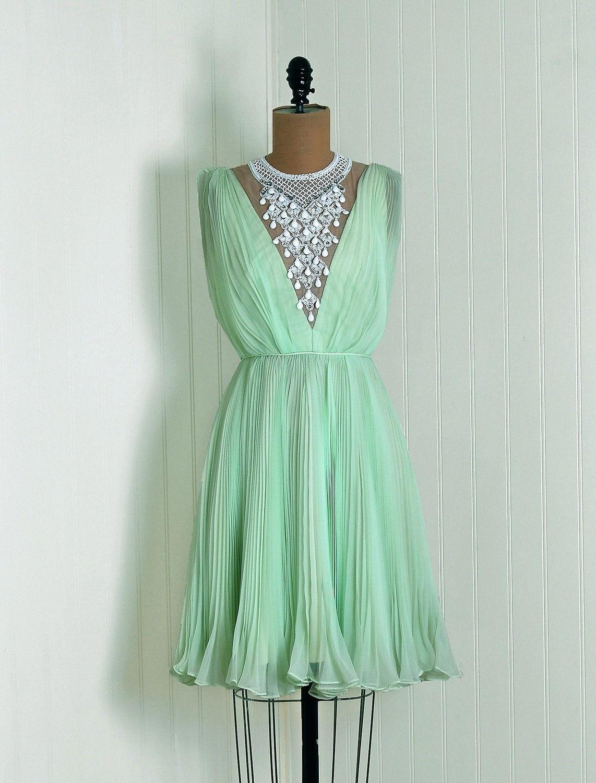 Dress, 1960s, via Timeless Vixen Vintage   gowns et al., 1960s ...