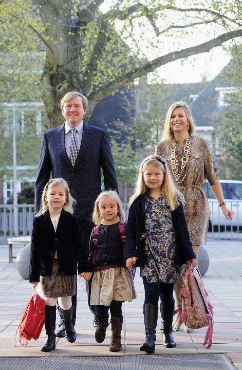 Eerste schooldag Prinses Ariane 2011