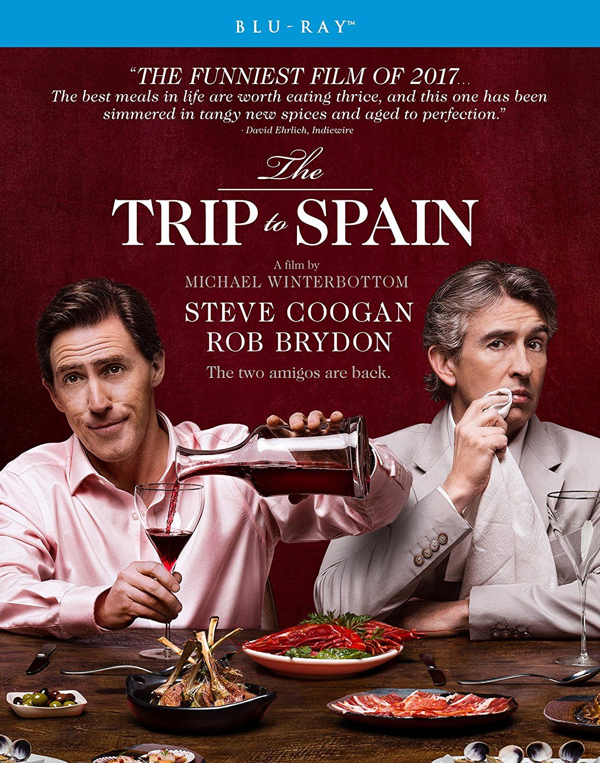 THE TRIP TO SPAIN BLURAY (SHOUT FACTORY)