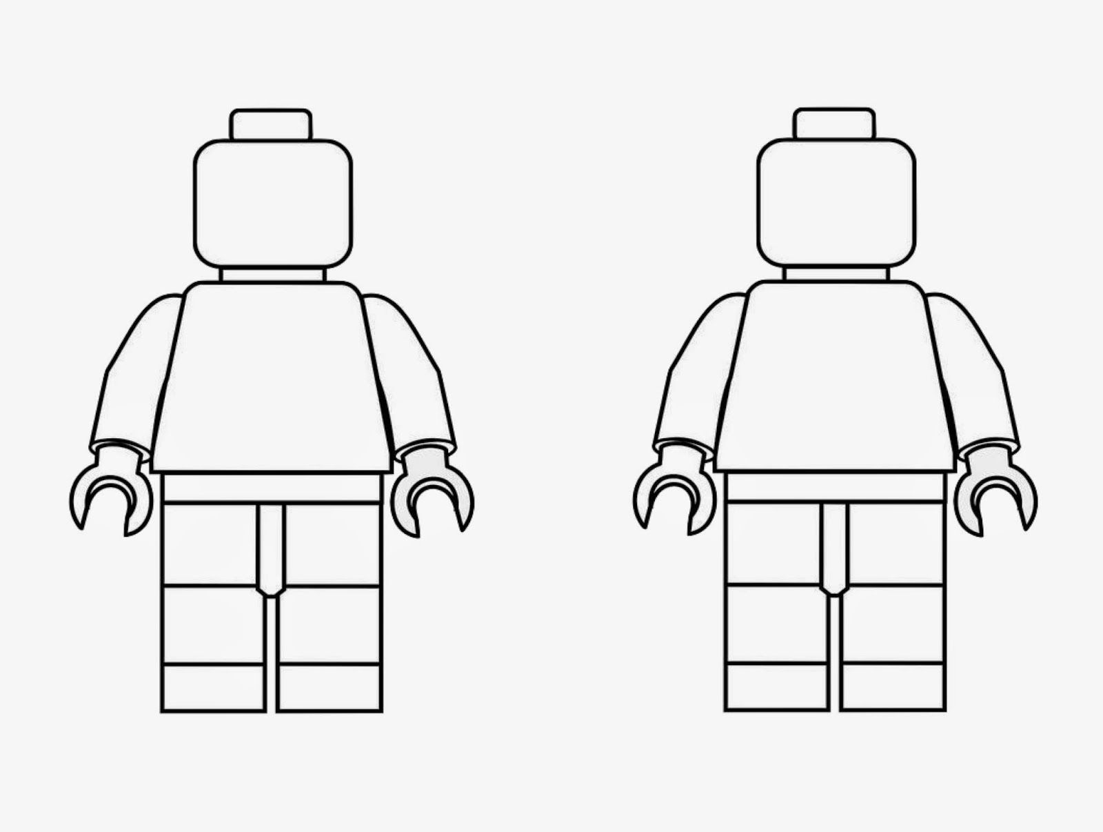 Lego Men Coloring Page Lego Coloring Pages