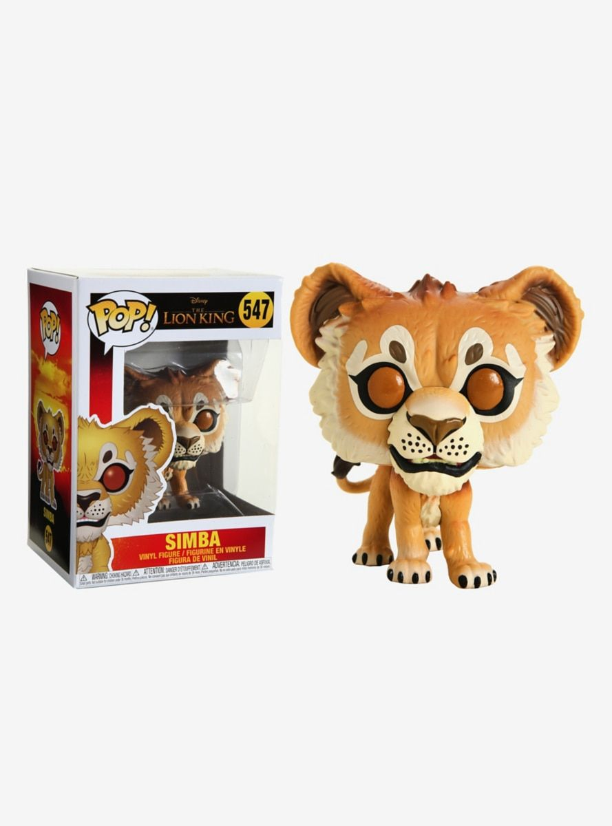 2019 Funko Pop - Scar with Flames #544 Exclusive Collector Box The Lion King