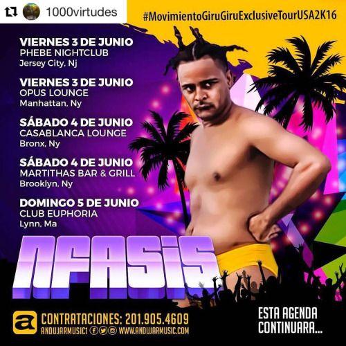 ITINERARIO N FASIS   - VIERNES 3 DE JUNIO: PHEBE NIGHTCLUB -...