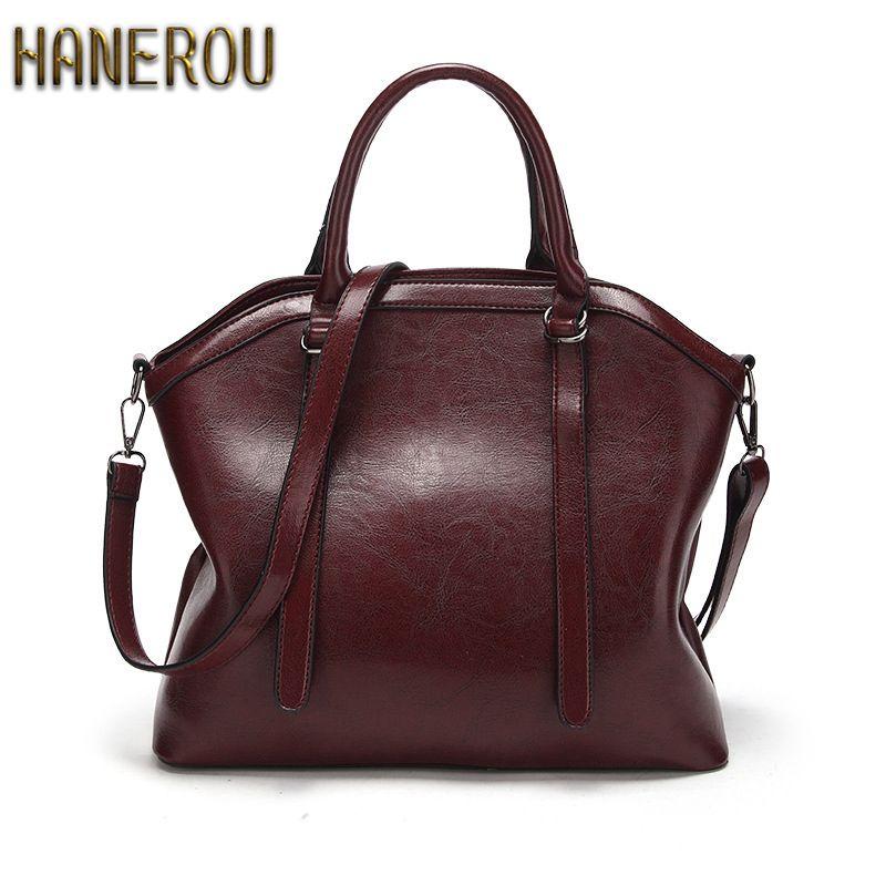 ... Suppliers  2018Brand Women Bag Fashion Shoulder Bag High Quality Handbag  Casual Large Capacity Tote Female Vintage PU Leather Crossbody bag women  bags ... bfaef90173