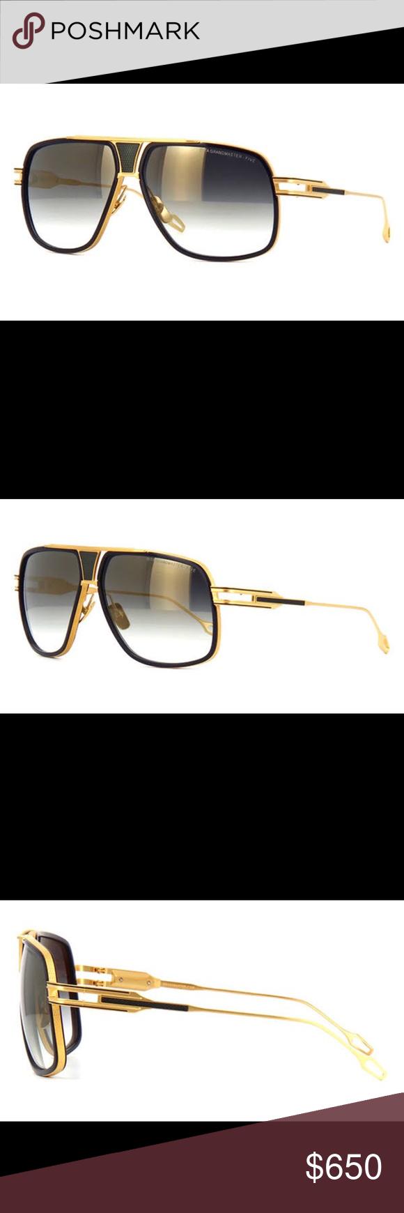aed4251be7 Dita Grandmaster Five Sunglasses Dita Grandmaster Five Sunglasses Color DRX- 2077-B Navy - 18K Gold w  D DITA Accessories Sunglasses