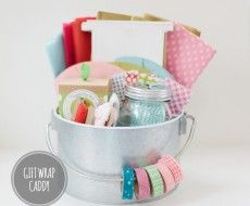 Gift Wrap Caddy