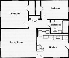 Plan for 1947 cape cod house growing up in levittown ny for Cape cod floor plans 1950