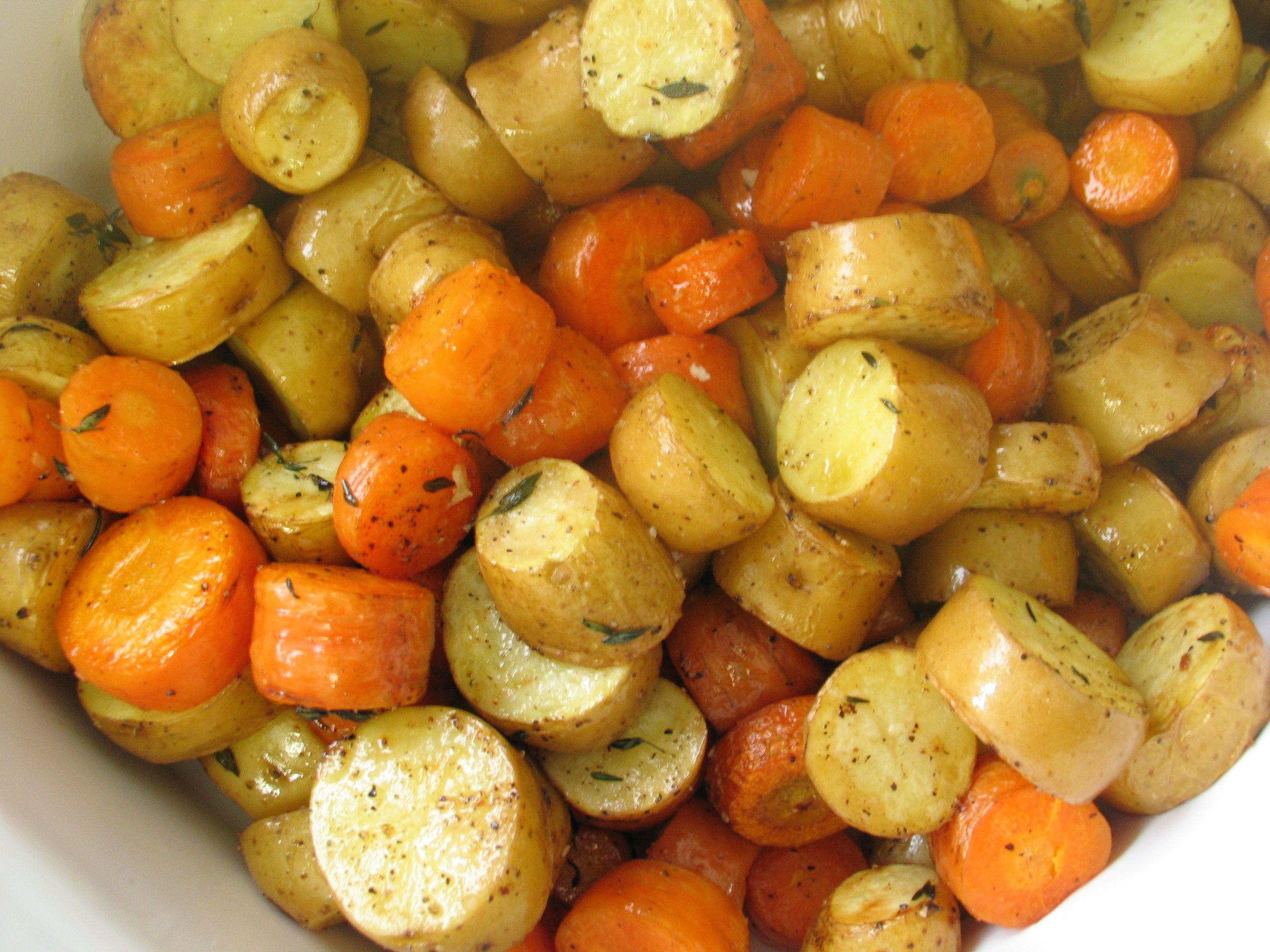 Roasted Fingerling and Carrot Coins | smitten kitchen ...