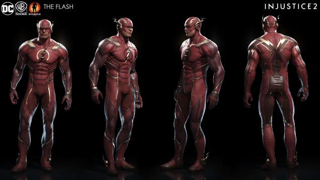 The Art Of Injustice 2 Injustice Characters Injustice 2 Flash Injustice 2 Characters