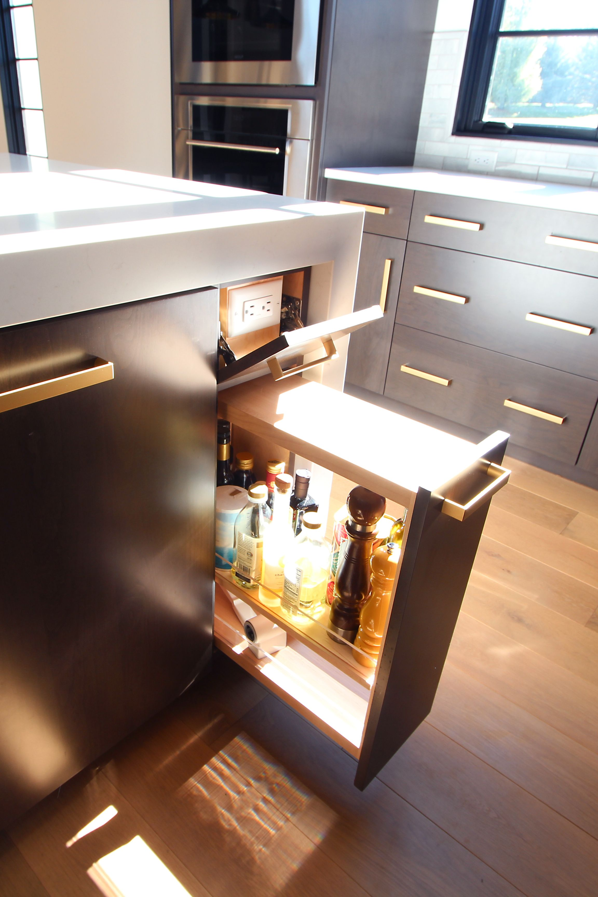 Scandinavian Kitchen Oil Pullout And Hidden Outlet Scandinavian Kitchen Interior Design Firms Kitchen And Bath Design