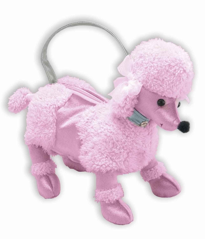 Forum Novelties 1950 S Sock Hop Pink Poodle Dog Costume Handbag