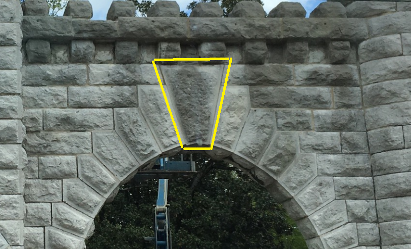 This Structure Features A Keystone A Keystone Is The Center Stone In An Arch That Locks The Structure Into Pl Architectural Elements Center Stone Architecture