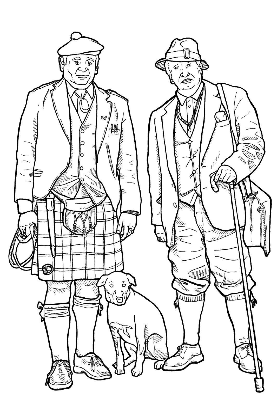 advanced style coloring book | Coloring Page