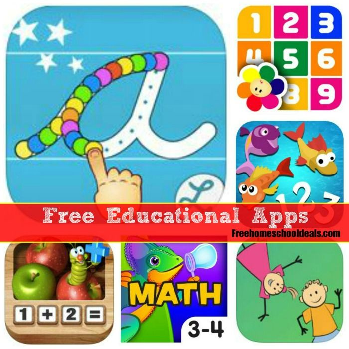 Free Educational Apps for Kids for iPhone and Android