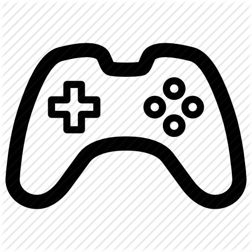 gallery for > video game controller icon png   silhouette ideas