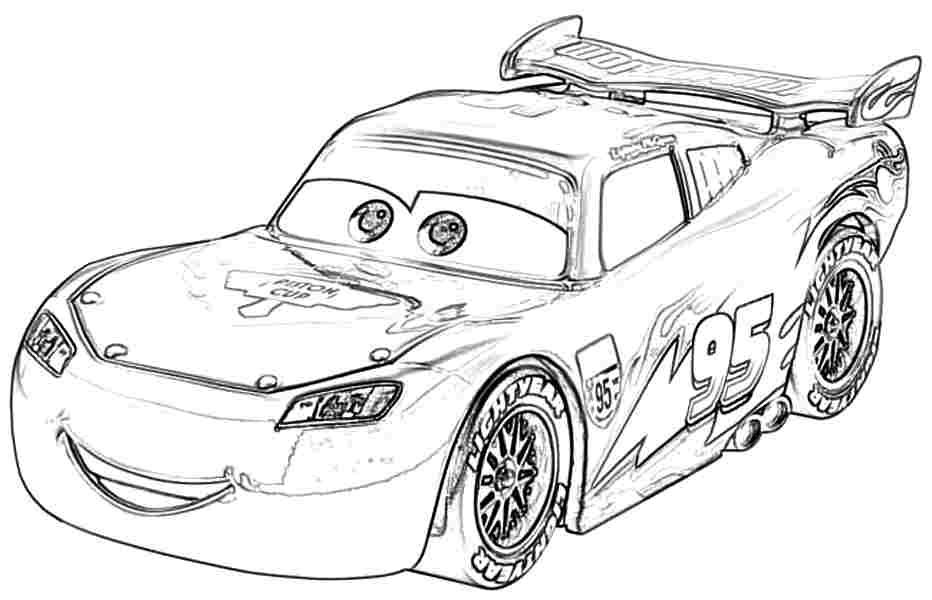 Transportation Cars Movie Coloring Pages Printable Free For