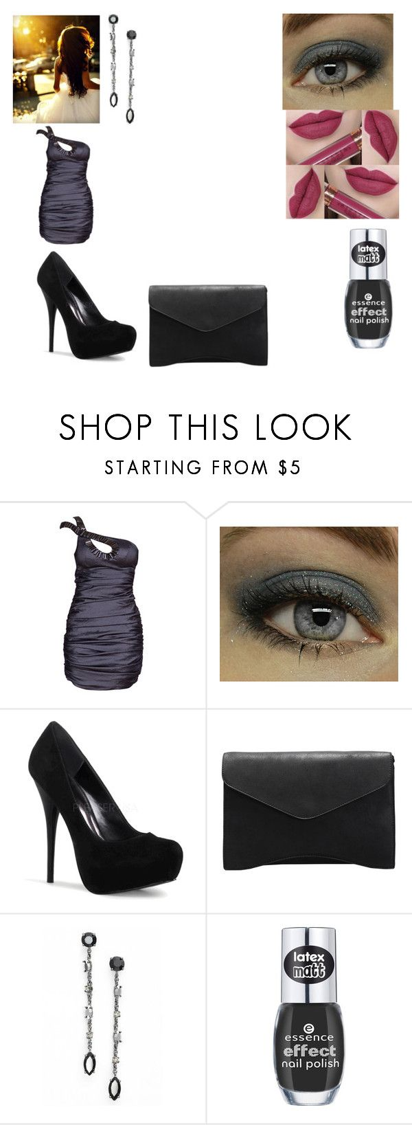 """""""Senza titolo #509"""" by cavallaro ❤ liked on Polyvore featuring ASOS, Marchesa, women's clothing, women, female, woman, misses and juniors"""