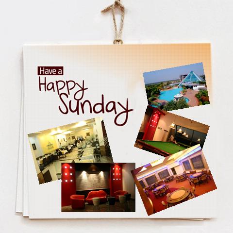 Enjoy your Sunday only at Eskay Resorts!
