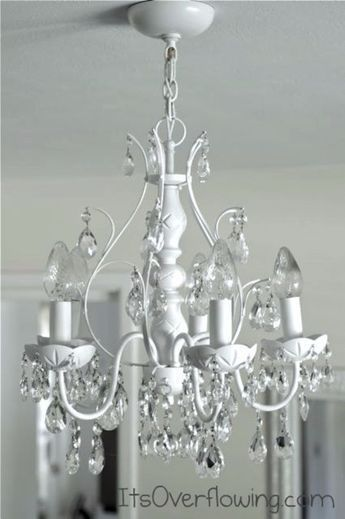 Diy chandelier makeovers chandelier makeover with spray paint diy chandelier makeovers chandelier makeover with spray paint easy ideas for old brass crystal and ugly gold chandelier makeover cool before aloadofball Images