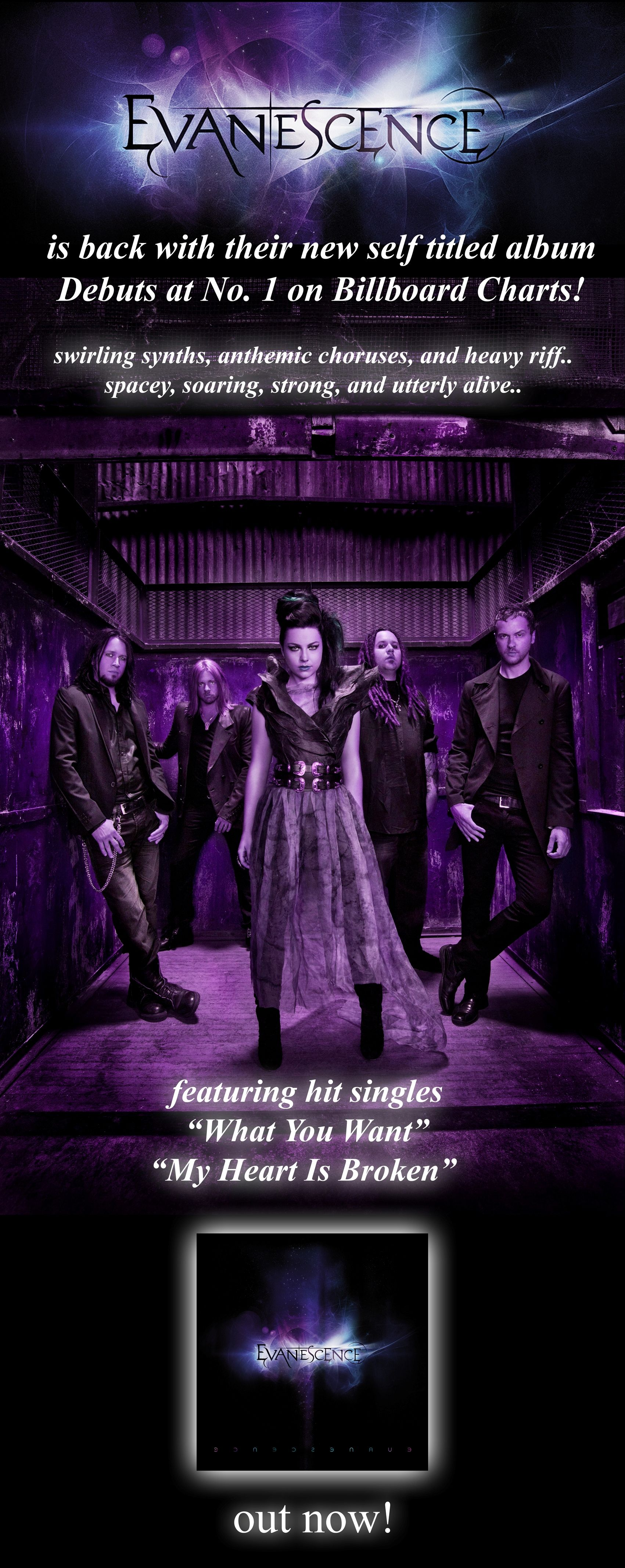 Evanescence Concert Poster