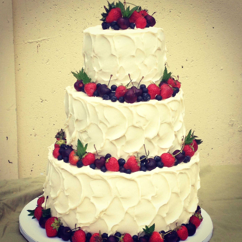 4th Of July Wedding Cake