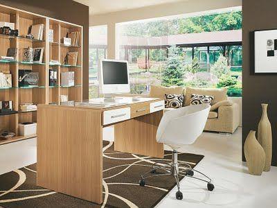 oficina moderna y sobria
