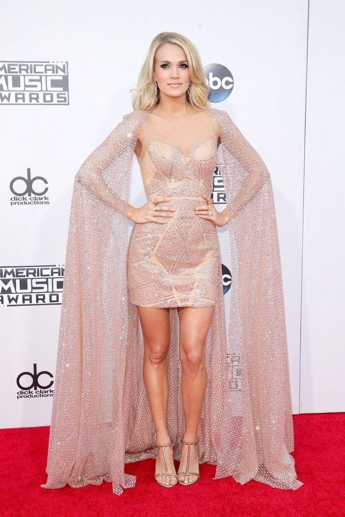 2015 American Music Awards Red Carpet Dresses