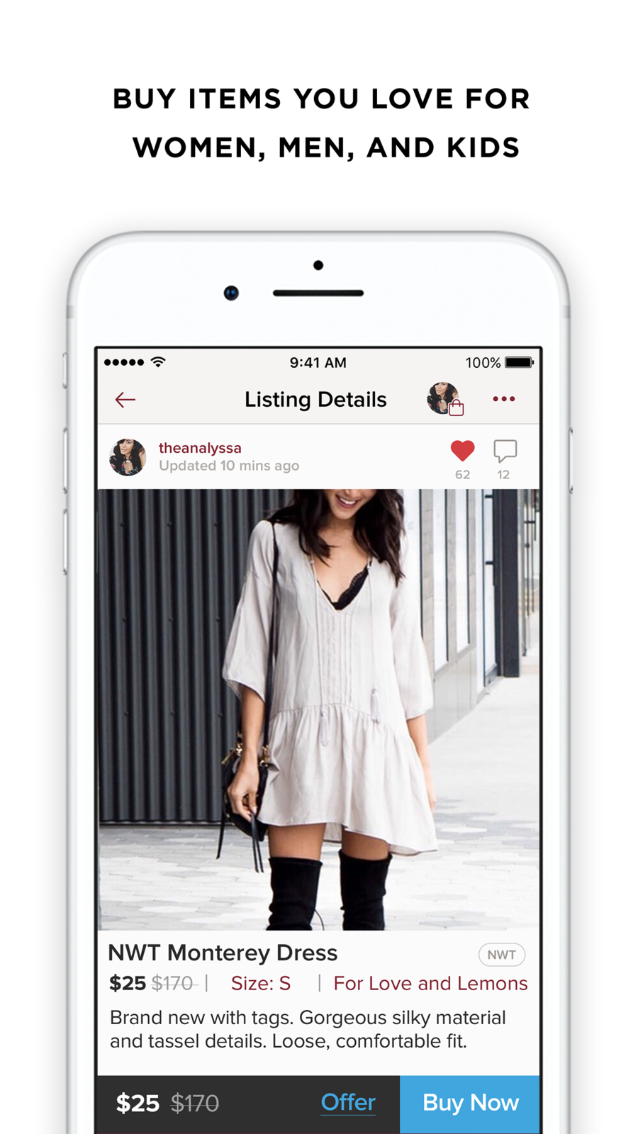 Poshmark on the App Store Clothing retail, Kenzo