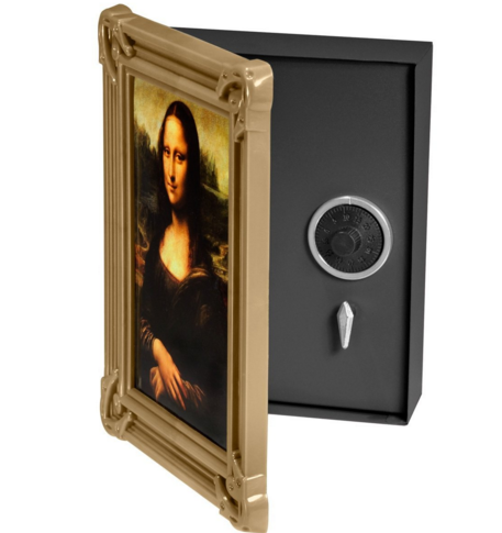 Picture Frame Gun Safe Not Only Is Beautiful But If You Open The