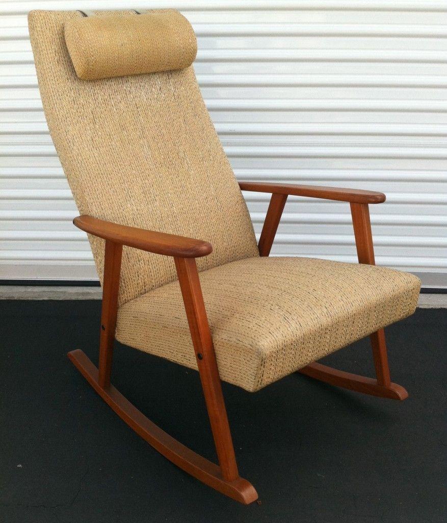 Scandinavian Modern Rocking Chair By Johanson Sweden Modern Rocking Chair Rocking Chair Chair