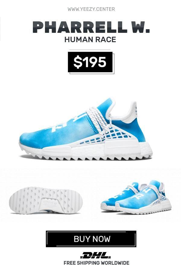 240ac83ee4687 How to get new Human Race Adidas HU Holi Blue   PW knock off ...