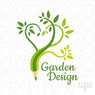Exclusive Customizable Logo For Sale: Garden Design | StockLogos.com