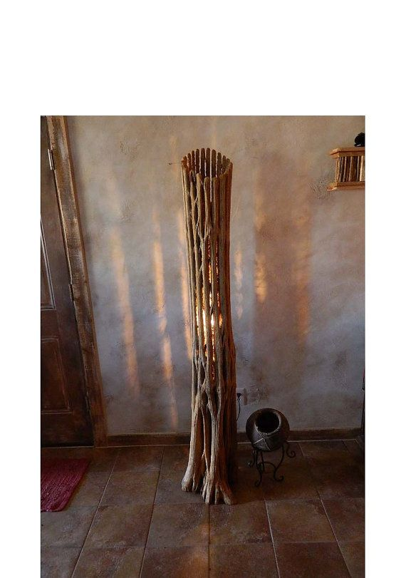 Floor Lamp Made From Saguaro Cactus Trunk By DesertGallery On Etsy, $200.00