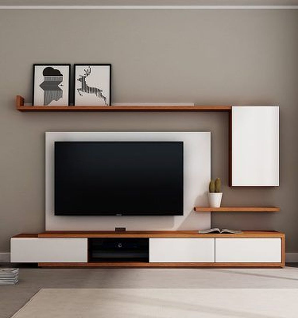 49 Affordable Wooden Tv Stands Design Ideas With Storage Bedroom