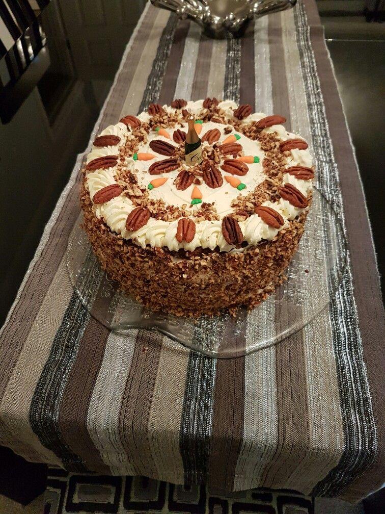 Jon's Carrot and pineapple Birthday cake Desserts, Food
